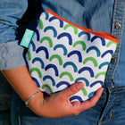 Scallops in Blue Port Pouch