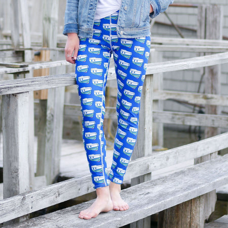 Navy NOPO Tug Leggings