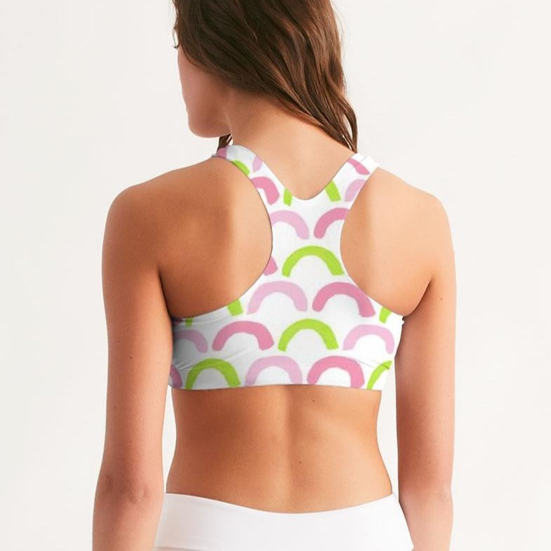 Scallops Seamless Sports Bra