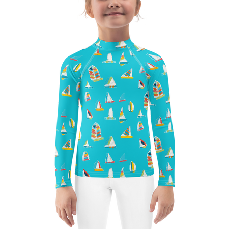 Waterfall Summersail Kids Sun Shirt