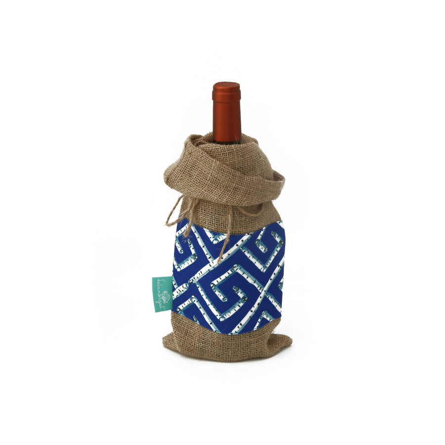 Sapphire Fancy Key Wine Bag