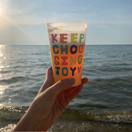 Keep Choosing Joy Shatterproof Cup Set