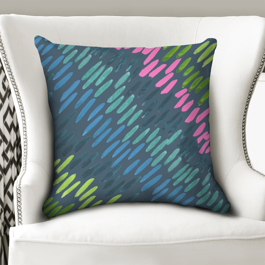 Nightfall Northern Lights Down Pillow