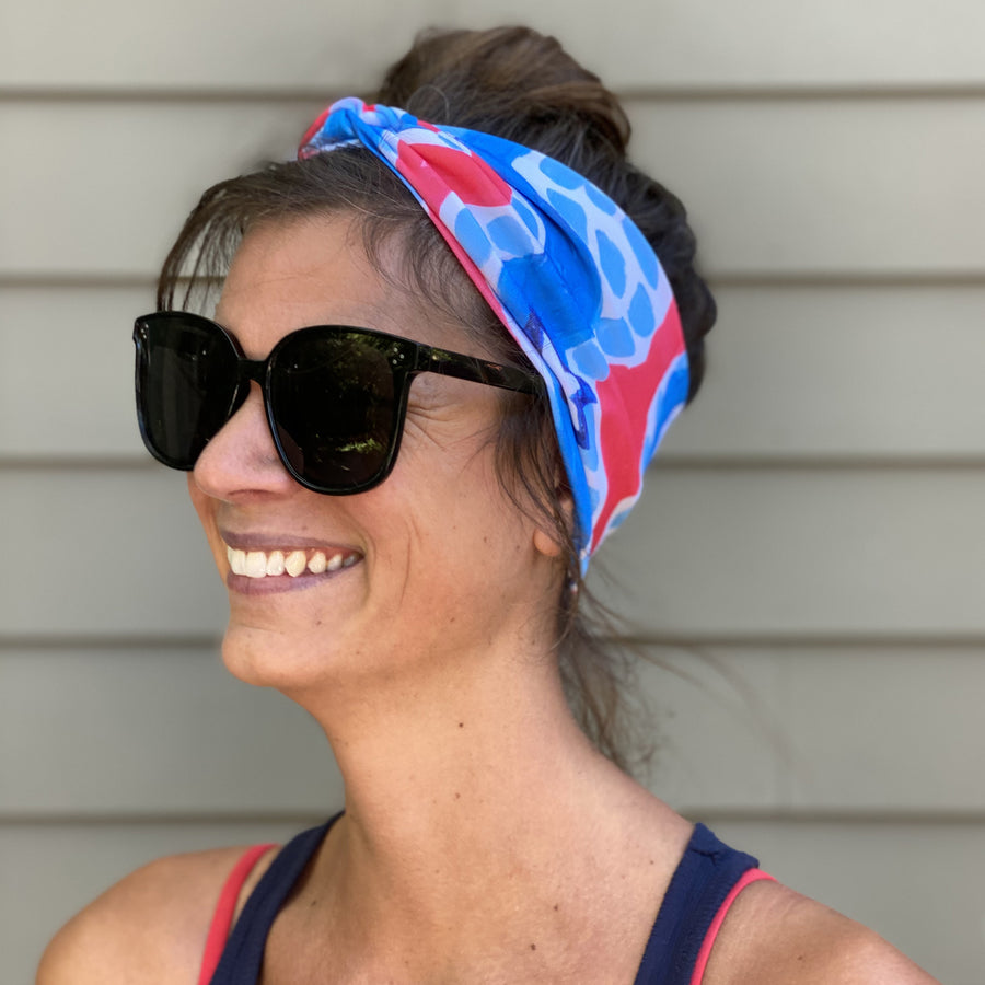 Stars and Stripes Twist Headband