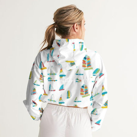"White Summer Sail ""Just Right"" Jacket"