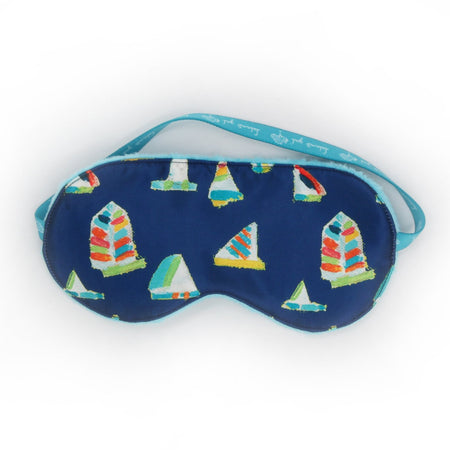 Navy Summer Sail Sleep Mask
