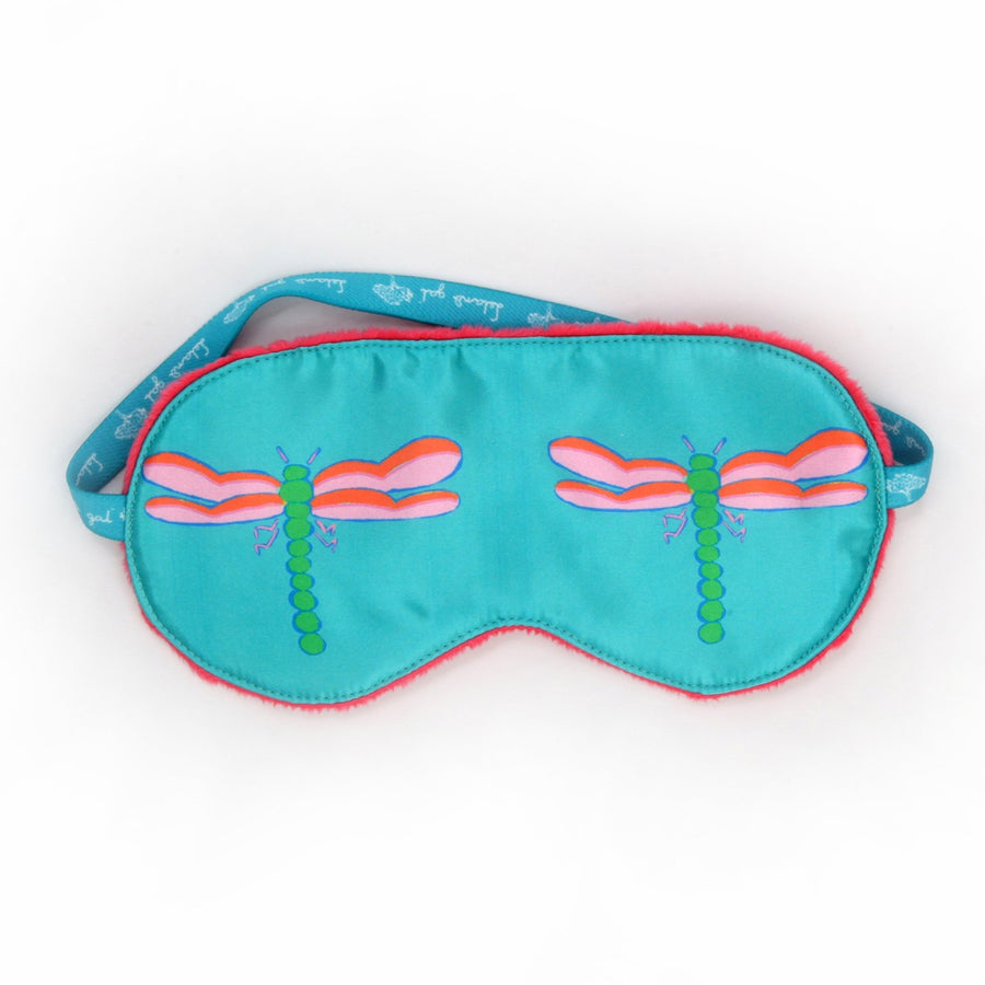 Waterfall Dragonfly Sleep Mask