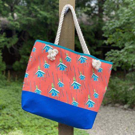 Watermelon Blue Angels Good Harbor Tote