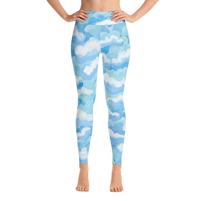 Buttermilk Skies Leggings