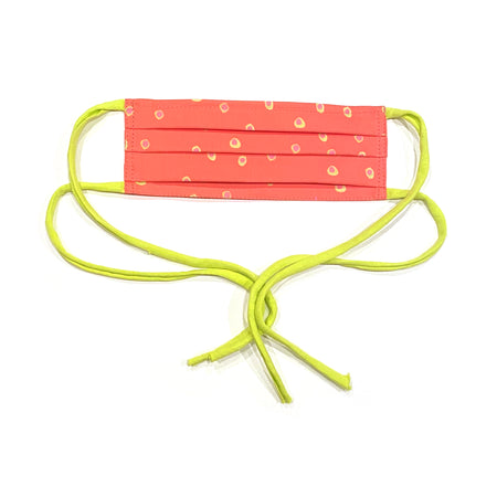 Watermelon Dots Child's Adjustable Face Mask