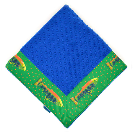Emerald Trout Baby Blankie