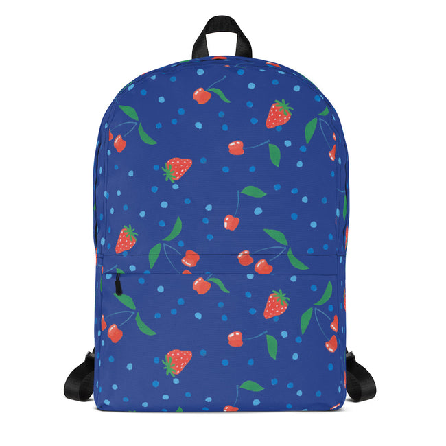 Sapphire Berries and Cherries Backpack