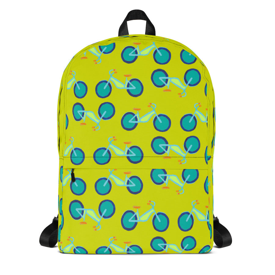 Citron Summer Bikes Backpack