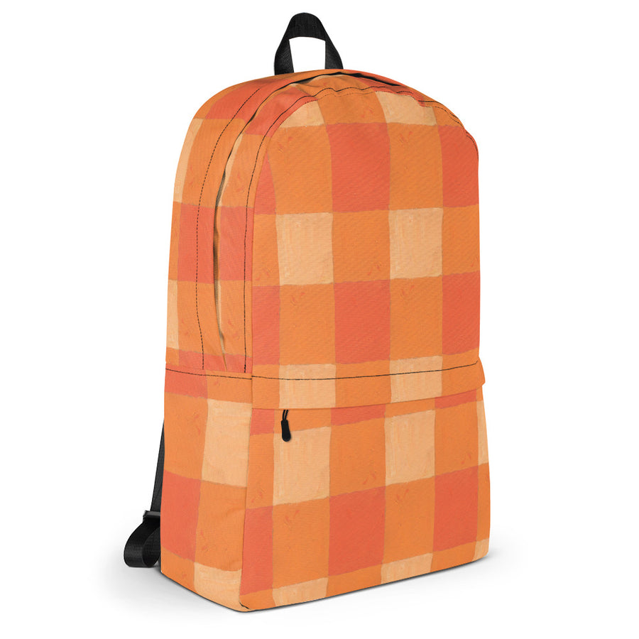Citrus Buffalo Check Backpack