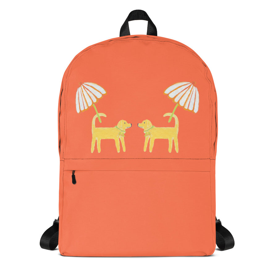 Grapefruit Dog Day Afternoon Backpack