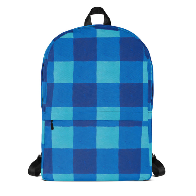 Lake Buffalo Check Backpack