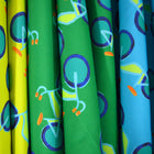 Surf Summer Bikes Fabric