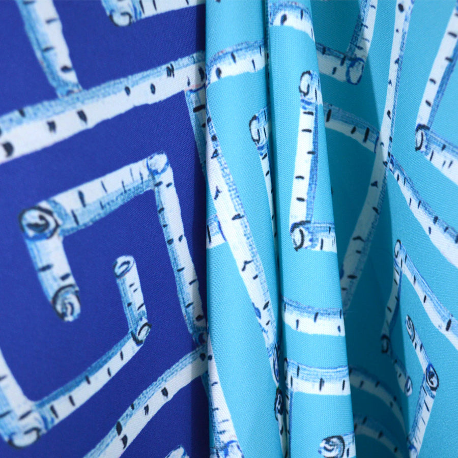 Surf Fancy Birch Key Fabric