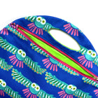 Cornflower Owl Roundy Bag