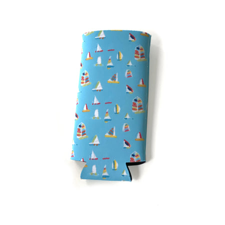Waterfall Summer Sail Tall Coozie