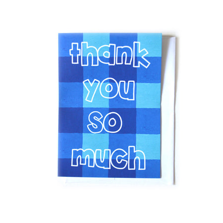 Buffalo Check Greeting Card