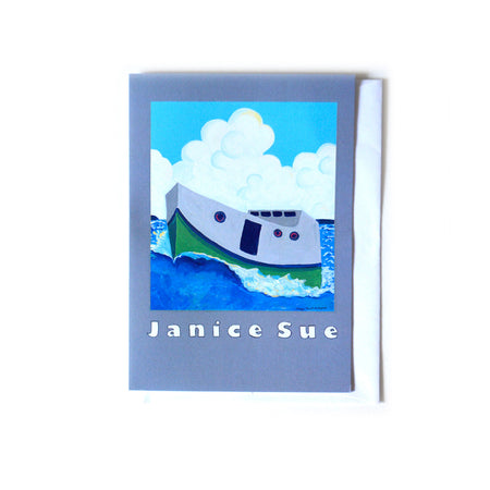 Janice Sue Greeting Card