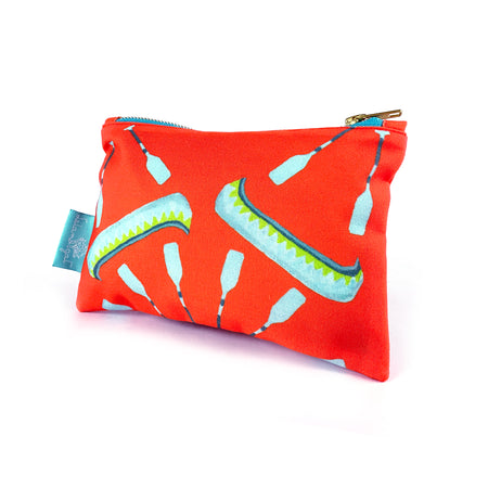 Coral Canoe Stash Bag