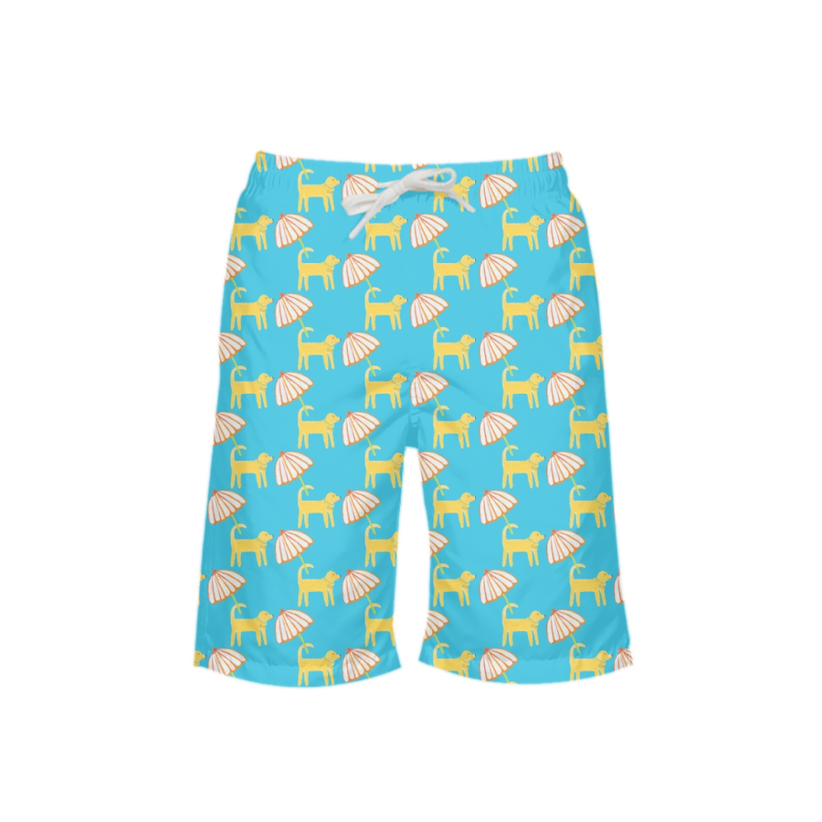 Surf Dogs Boy's Swim Trunks