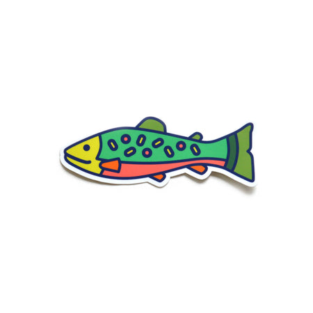 New Brook Trout Decal