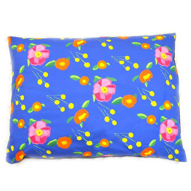 Indigo Katherine's Blooms Large Dog Bed