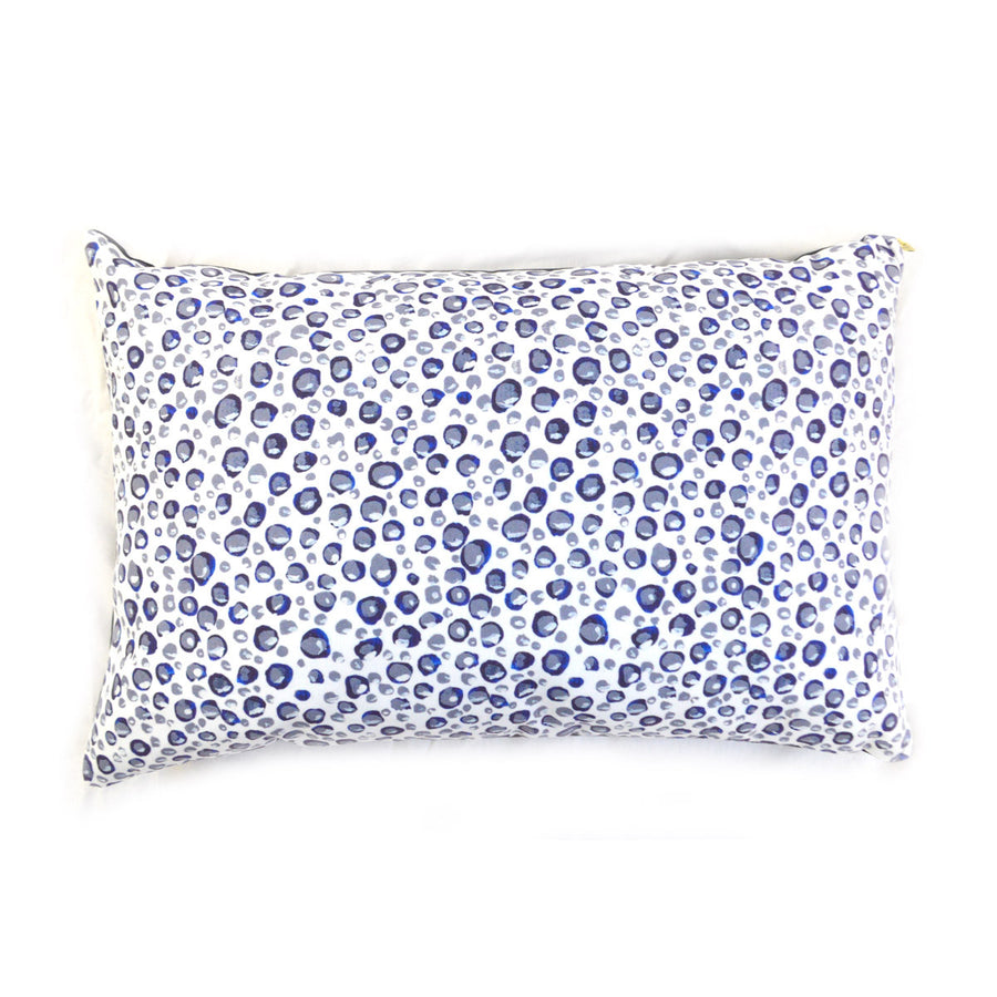 White Beach Bubbles Small Dog Bed