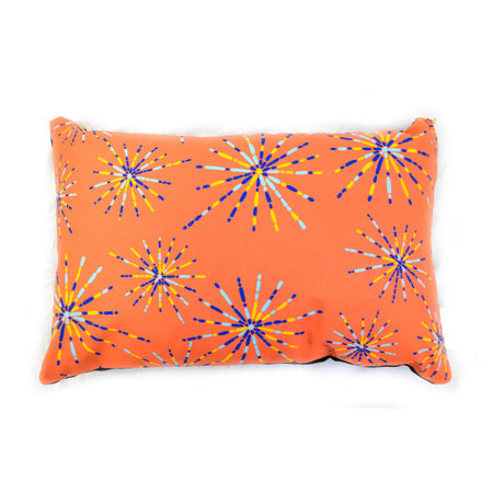 Tangerine Fireworks Small Dog Bed