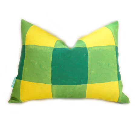 Foliage Buffalo Check Lumbar Down Pillow