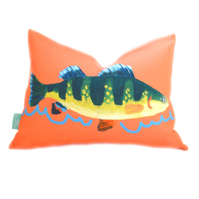 Grapefruit Perch Lumbar Down Pillow