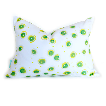 Lightning Bugs Lumbar Down Pillow