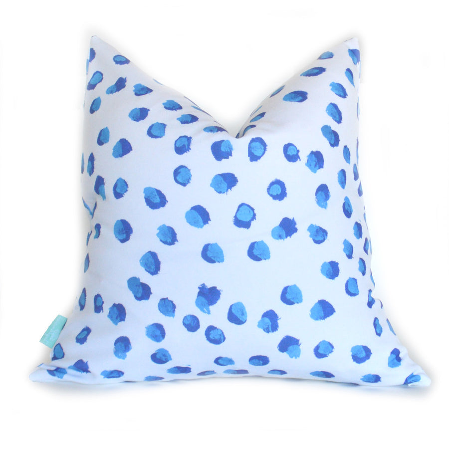 Blueberries Down Pillow