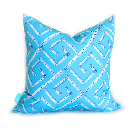 Surf Fancy Birch Key Down Pillow