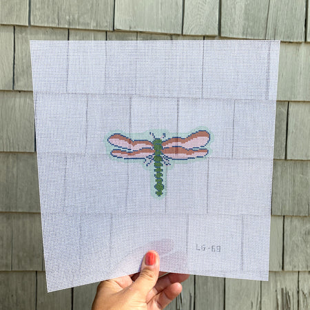 Dragonfly Needlepoint Canvas