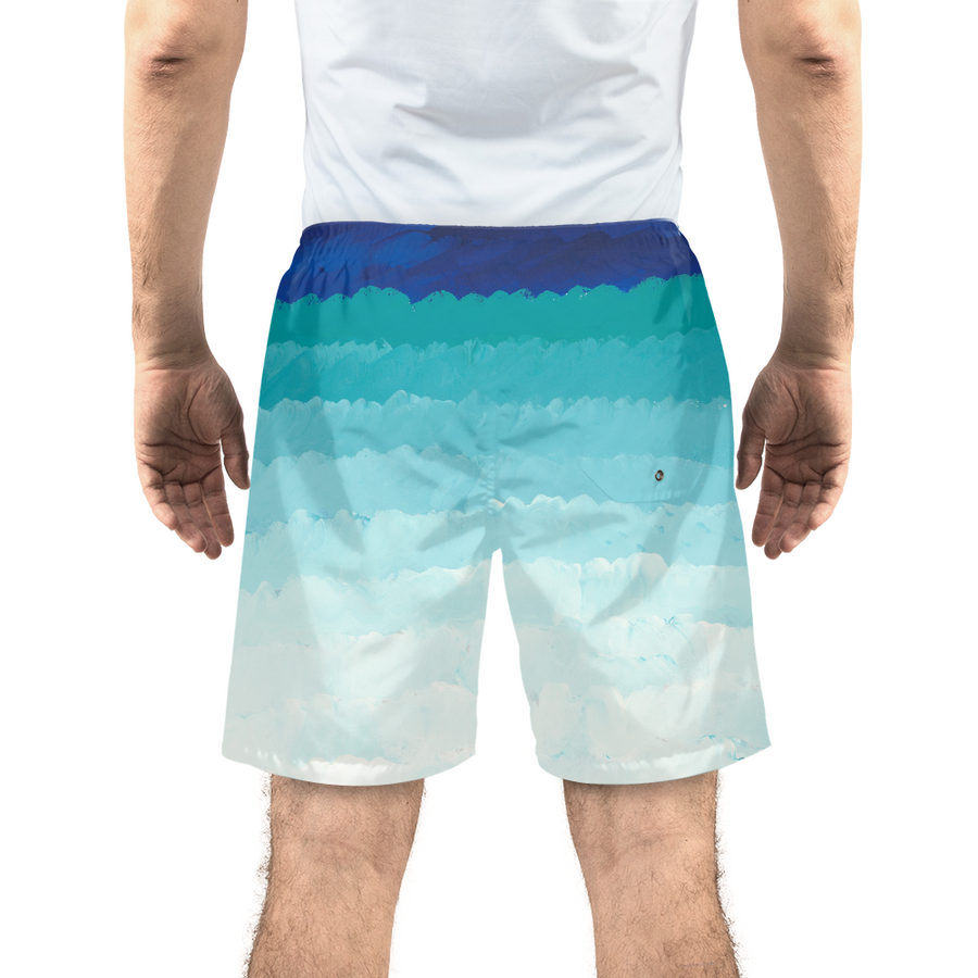 Ombré Men's Swim Trunks