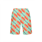 Seagreen Dreamsicle Boy's Swim Trunks