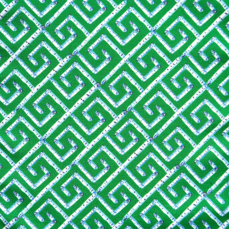 Emerald Birch Key Fabric