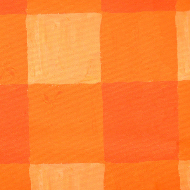 Citrus Buffalo Check Fabric