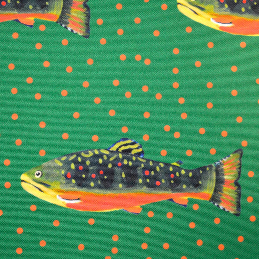 Emerald Brook Trout Fabric