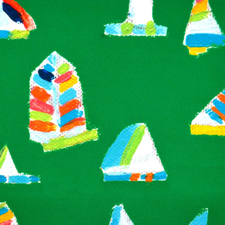 Emerald Summer Sail Fabric