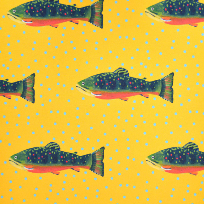 Sunshine Brook Trout Fabric