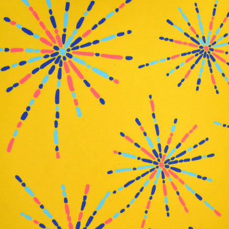 Sunshine Fireworks Fabric