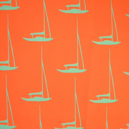 Tangerine Safe Harbor Fabric