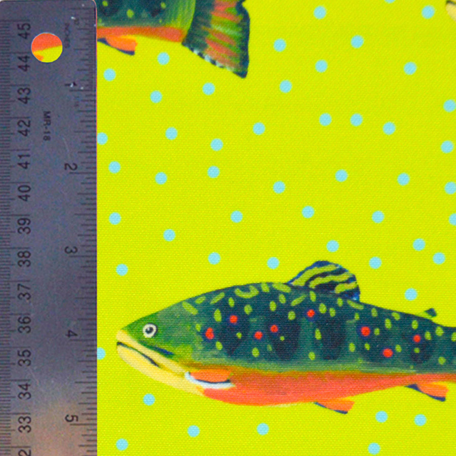 Citron Brook Trout Fabric