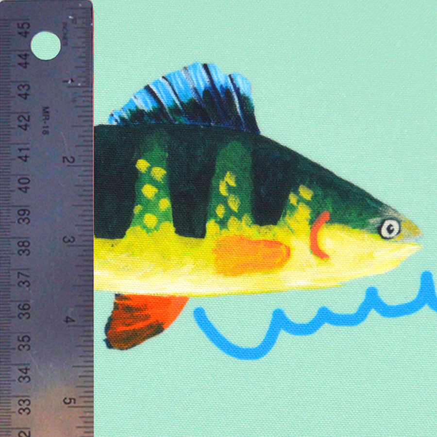 Seagreen Perch Fabric