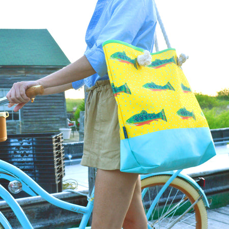 Sunshine Brook Trout Good Harbor Tote